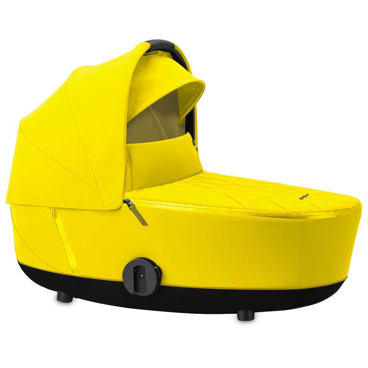 Capazo de luxe MIOS Cybex Mustard yellow-yellow