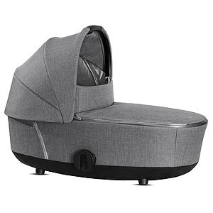 Capazo de luxe MIOS Cybex Plus Manhattan Grey Plus-mid grey