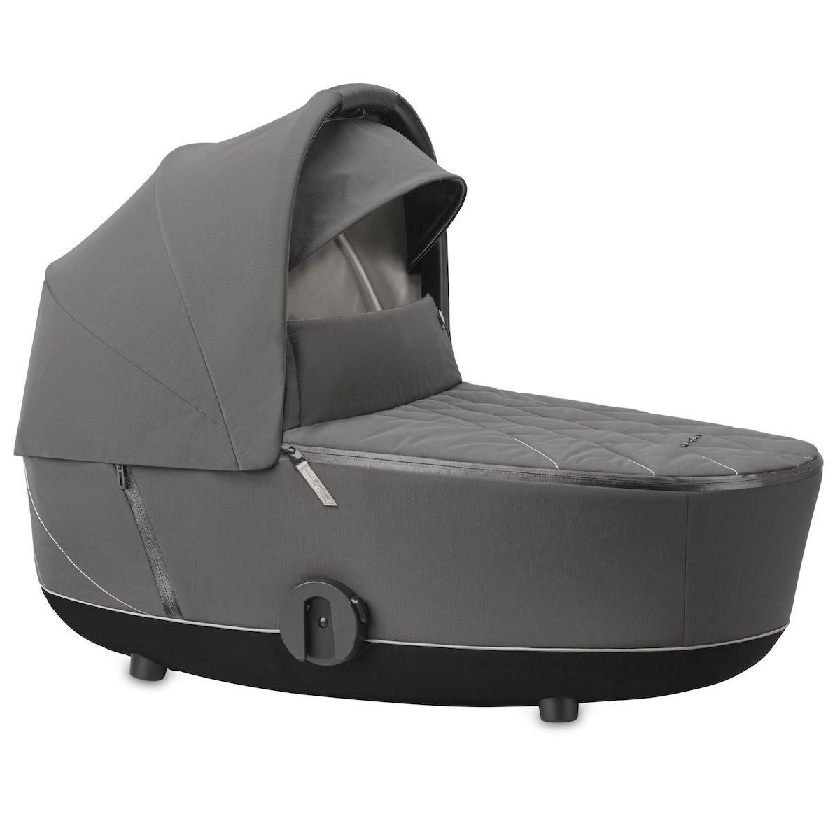 Capazo de luxe MIOS Cybex Soho grey-mid grey