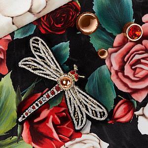Capazo de luxe MIOS Cybex spring blossom dark-black