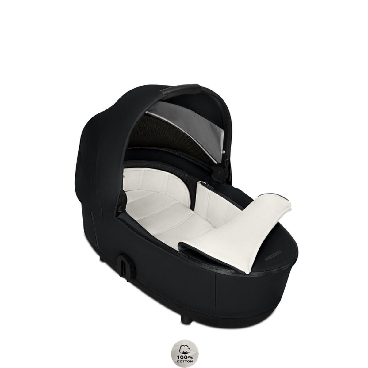 Capazo de luxe MIOS Cybex wings-black
