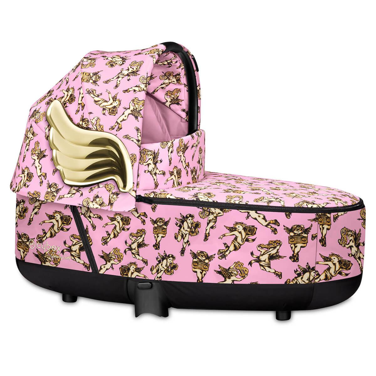 Capazo de luxe PRIAM Cybex cherub pink-pink