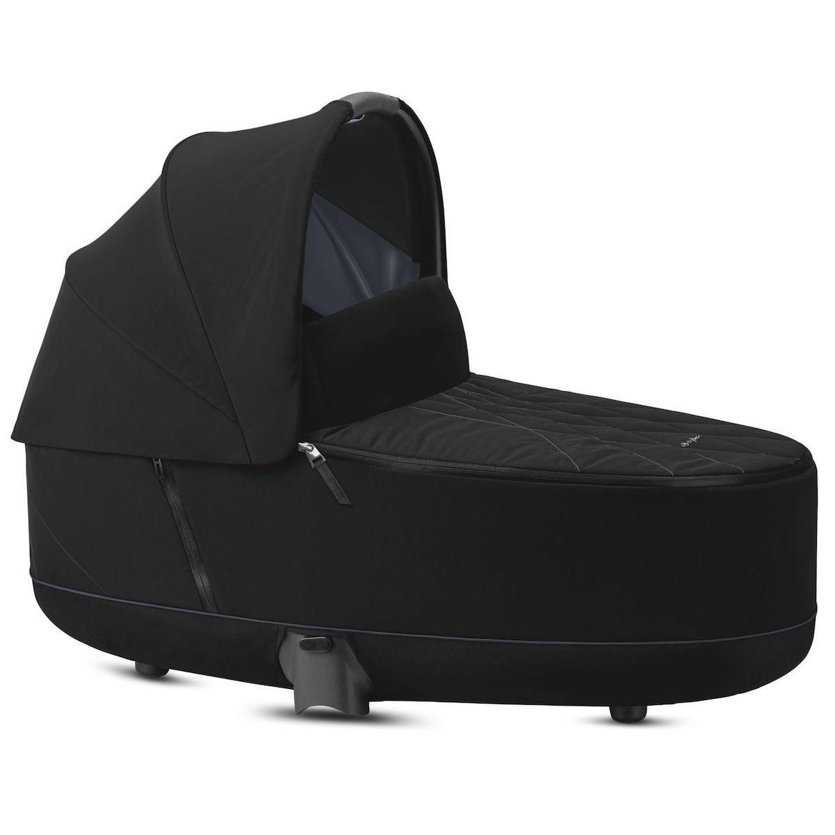Capazo de luxe PRIAM Cybex Deep black-black