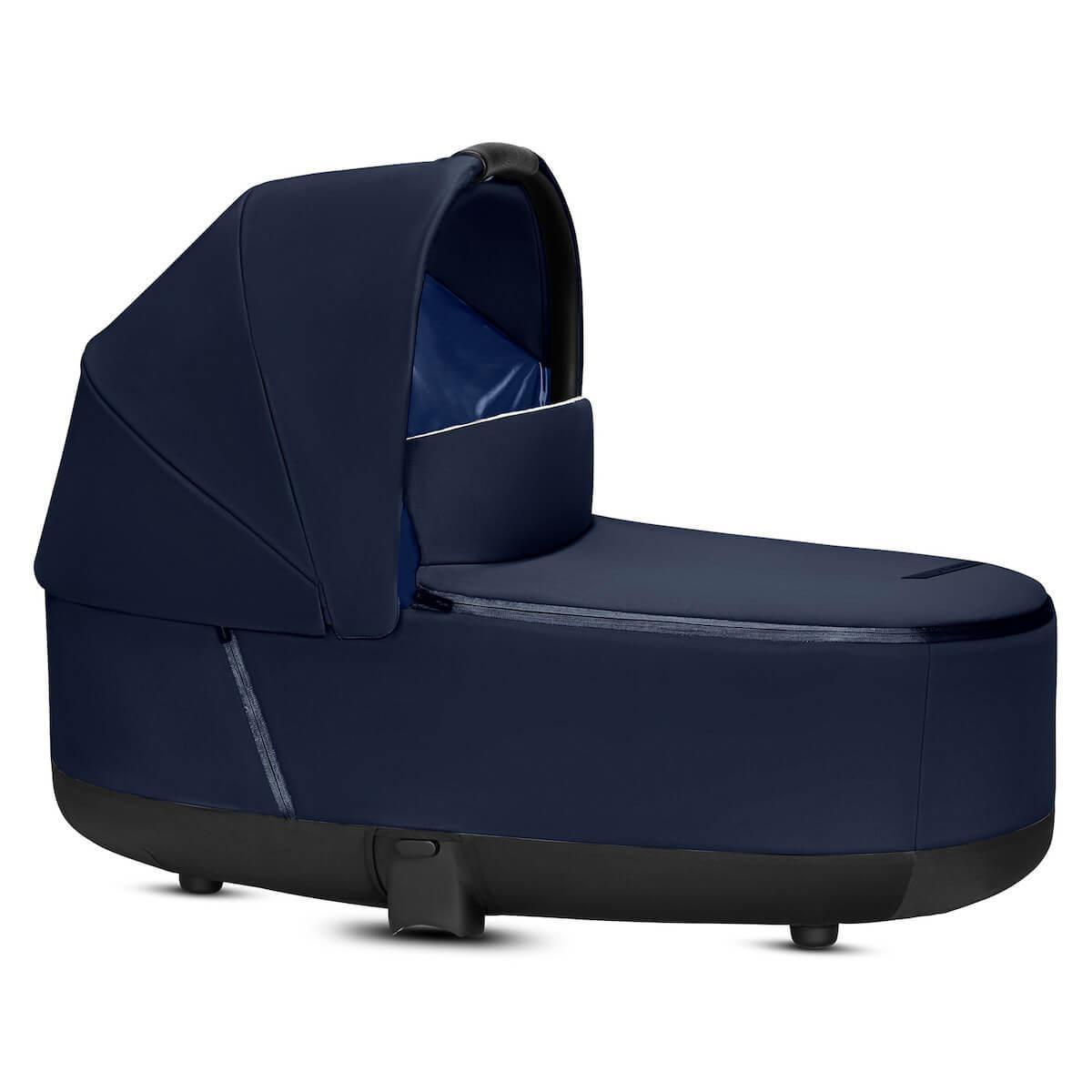 Capazo de luxe PRIAM Cybex indigo blue-navy blue