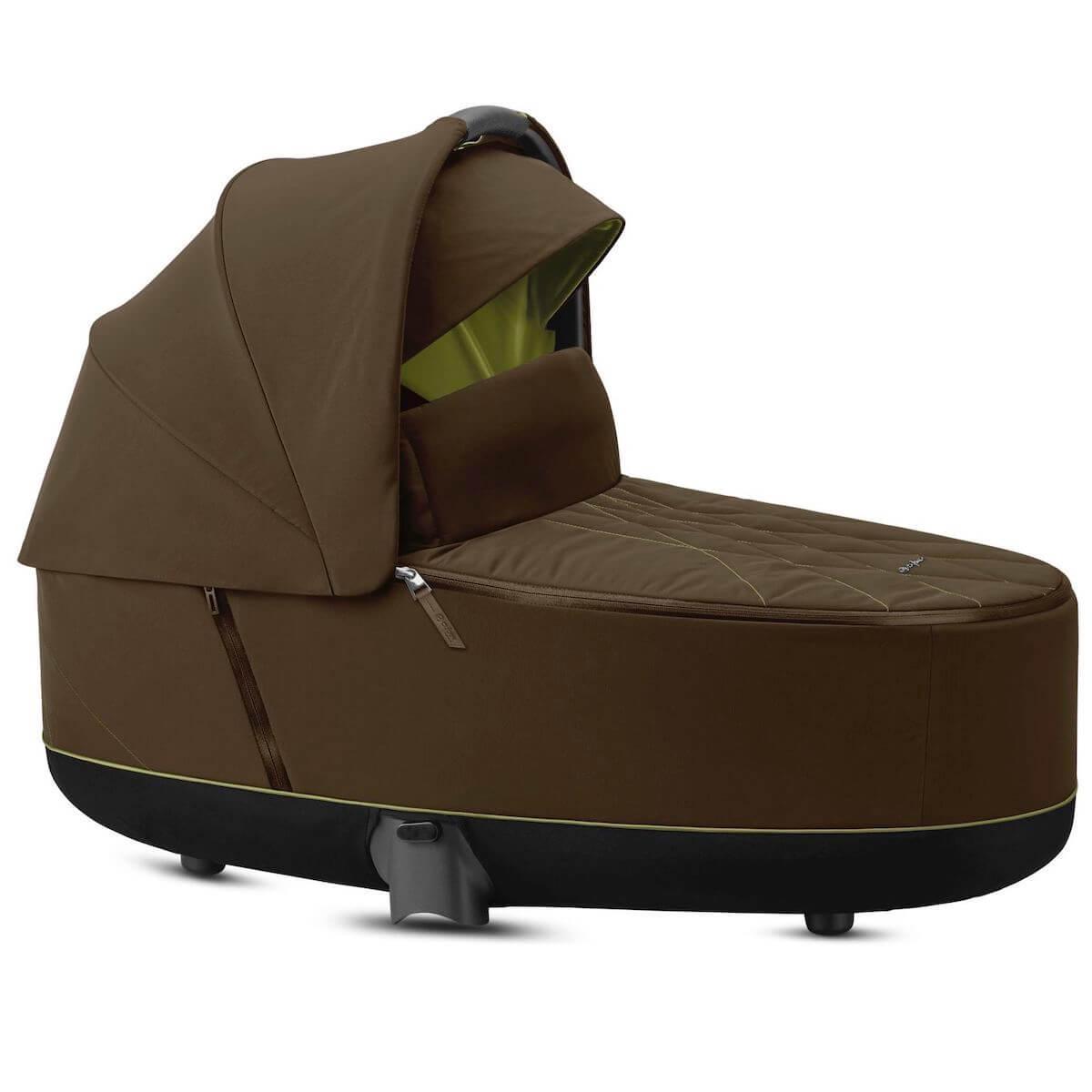 Capazo de luxe PRIAM Cybex Khaki green-khaki brown