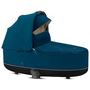 Capazo de luxe PRIAM Cybex Mountain blue-turquoise