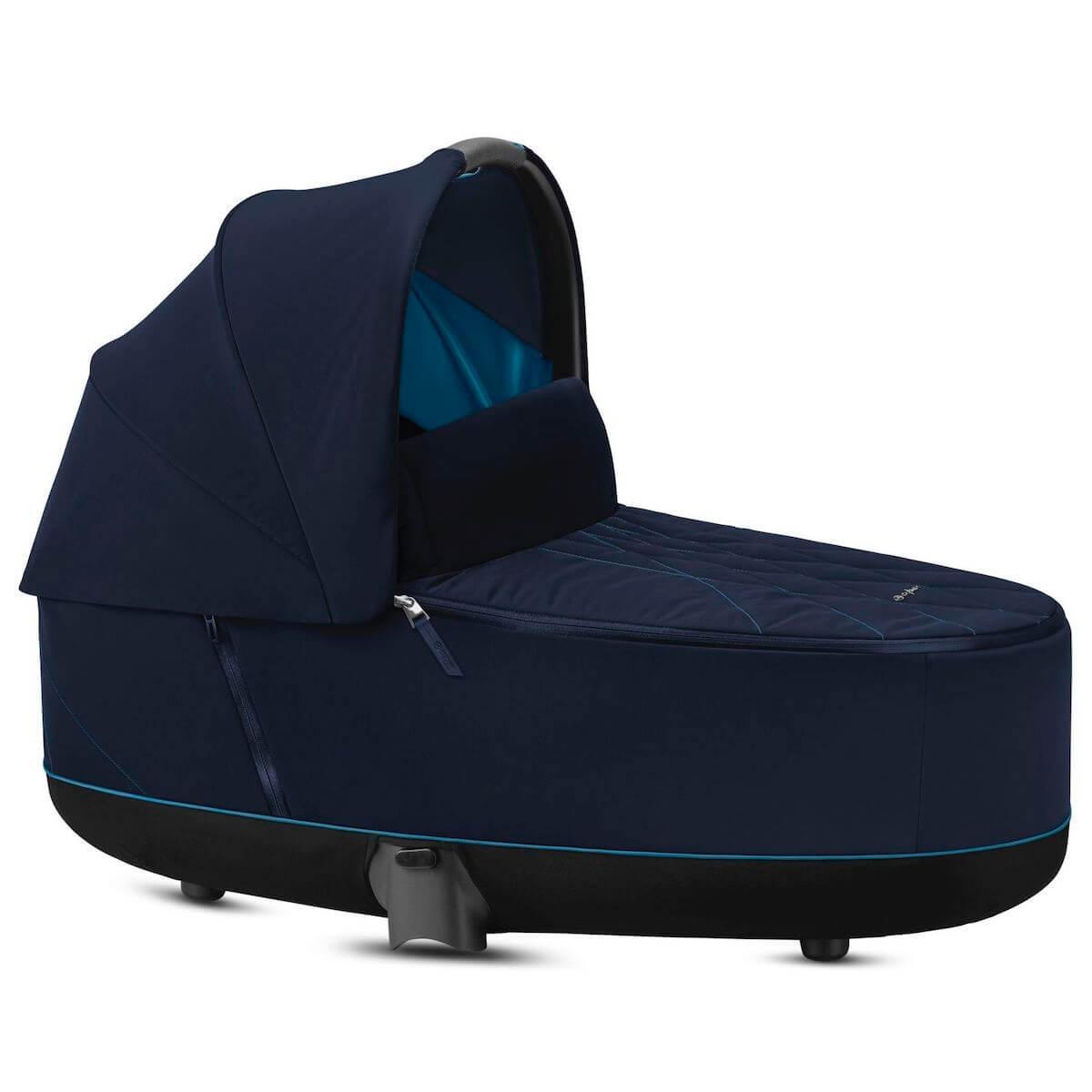 Capazo de luxe PRIAM Cybex Nautical blue