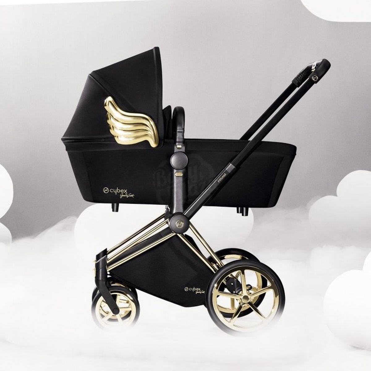 Capazo de luxe PRIAM Cybex wings-black