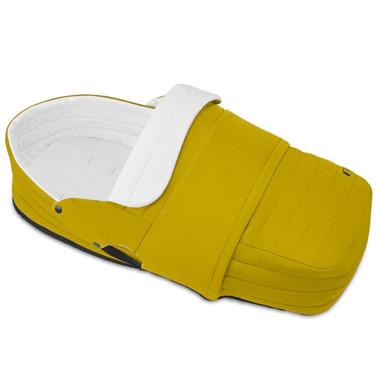 Capazo ligero PLATINUM Cybex Mustard yellow-yellow