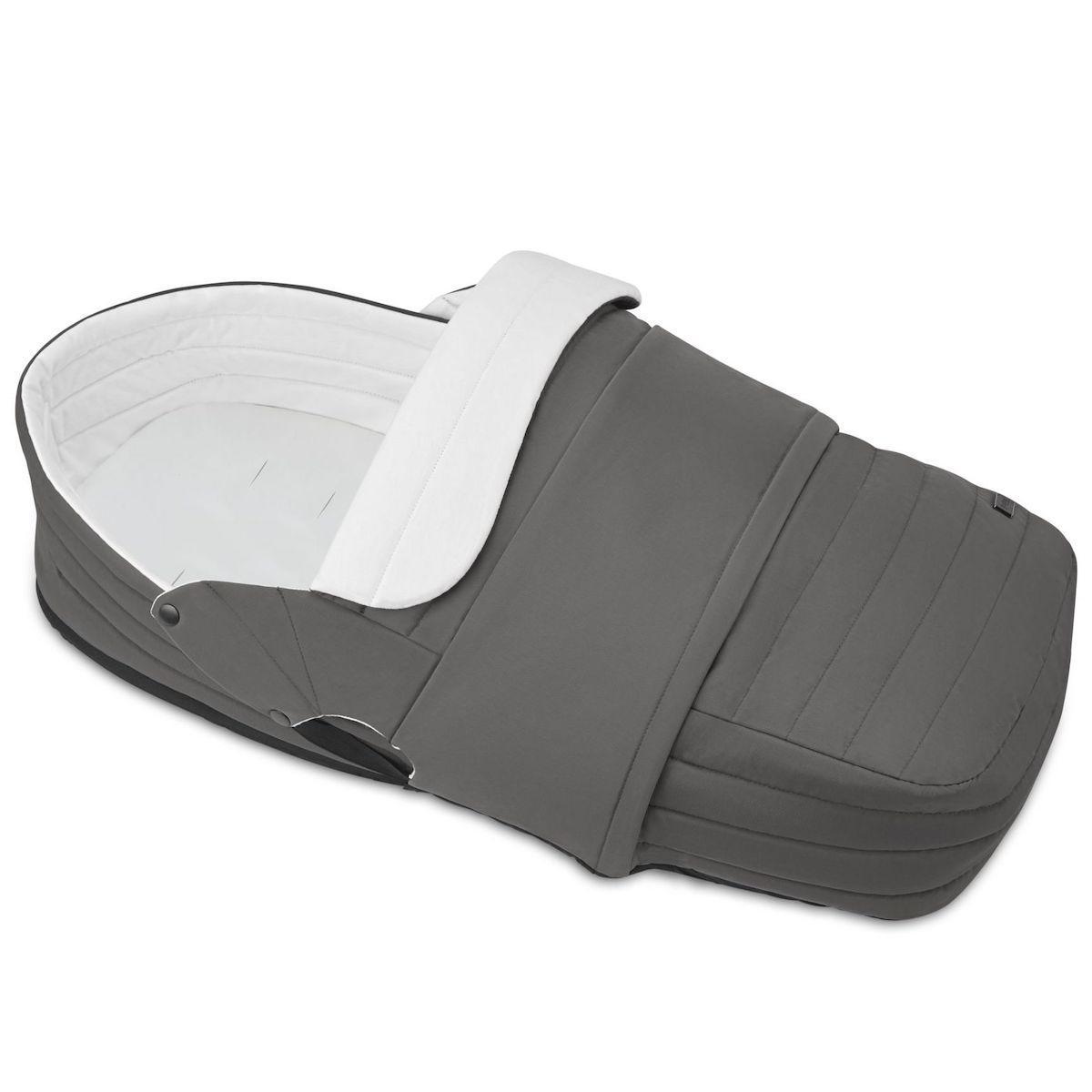 Capazo ligero PLATINUM Cybex Soho grey-mid grey