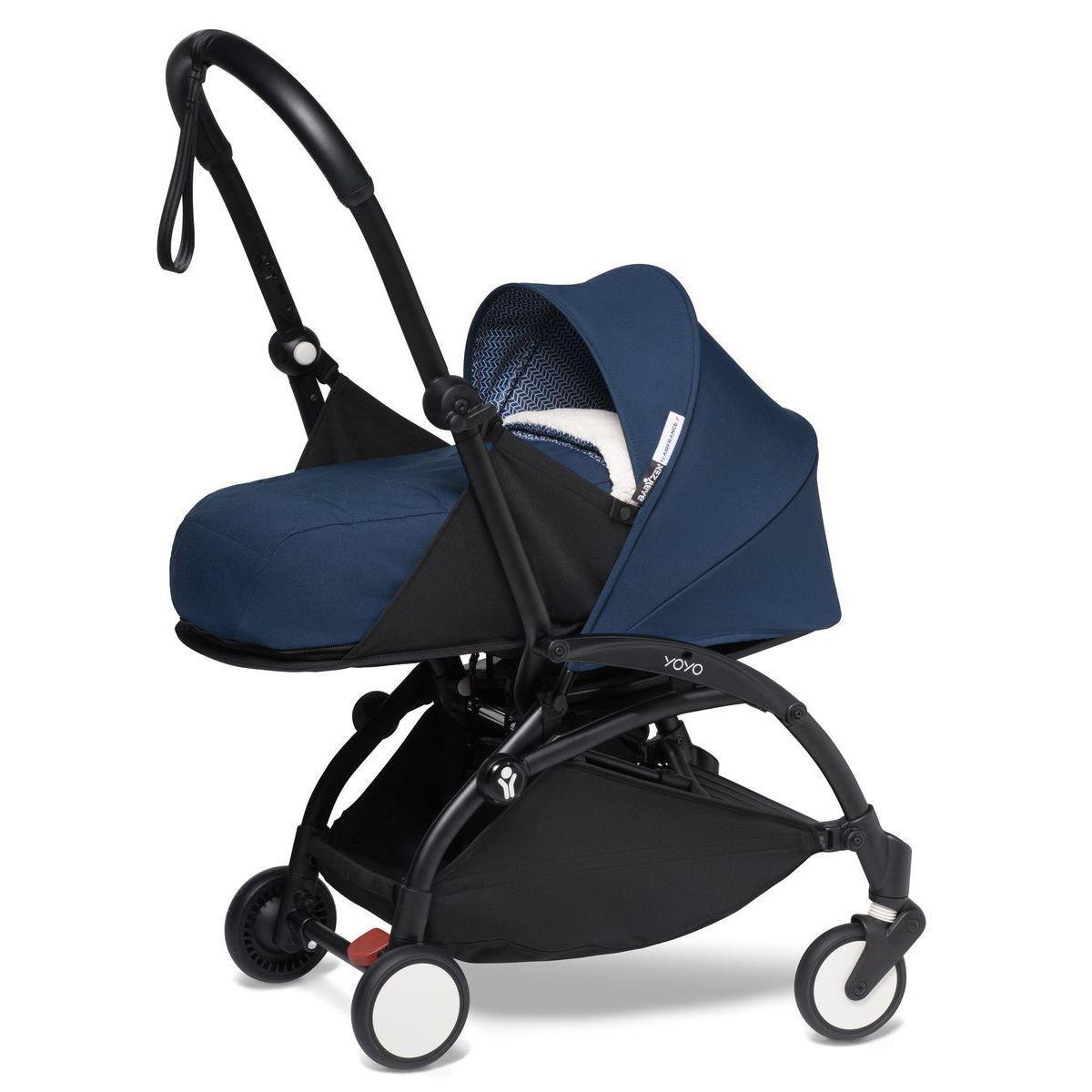 Carrito recién nacido YOYO² +0M Babyzen negro-Air France