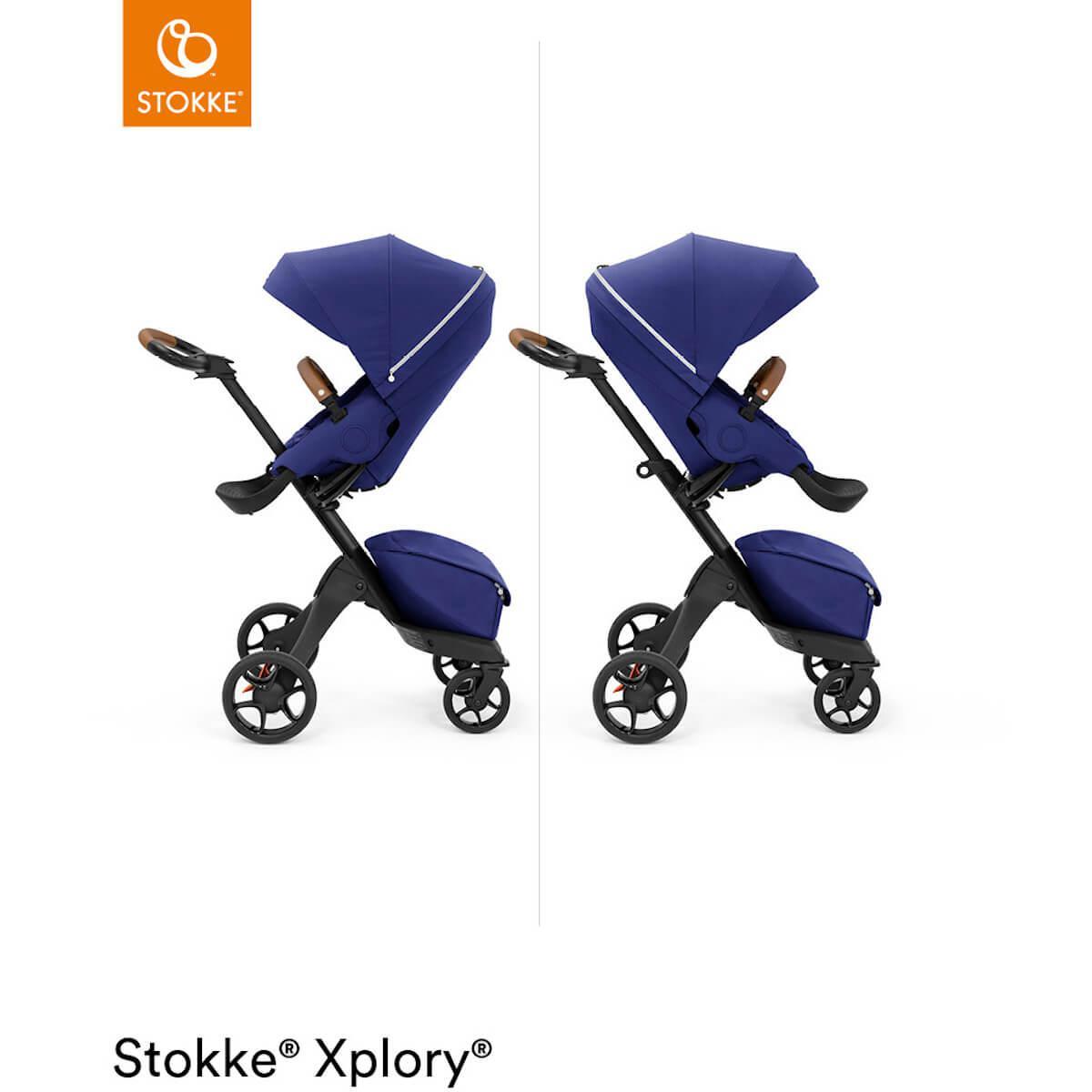 Carrito XPLORY X Stokke Royal Blue