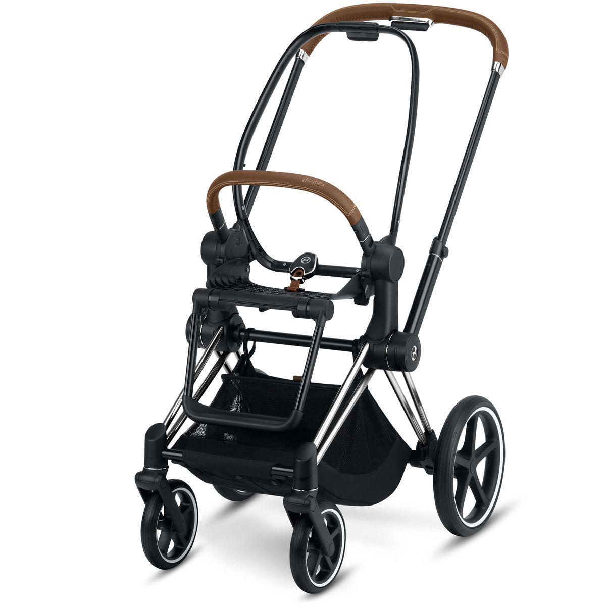 Chasis de carrito eléctrico ePRIAM Cybex chrome-brown