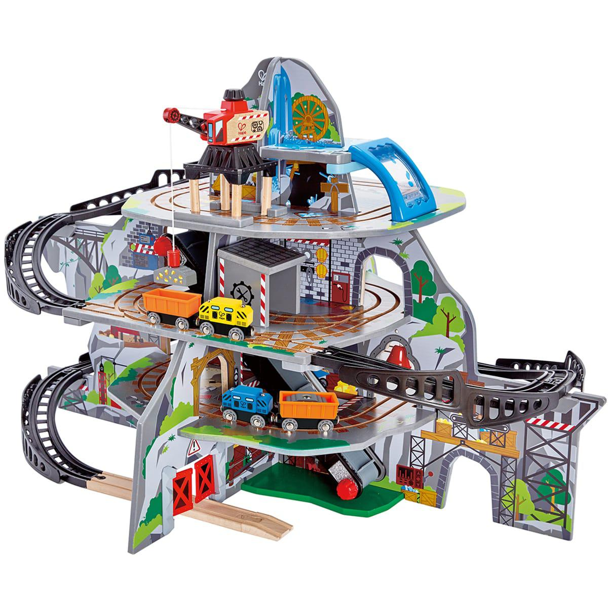 Circuito tren MIGHTY MOUTAIN MINE Hape