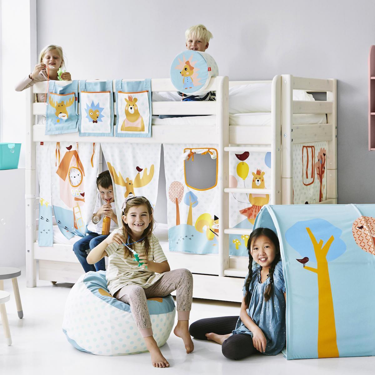 Cojín infantil respaldo Camas infantiles BOSQUE Flexa