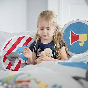 Cojín respaldo camas infantiles LITTLE HEROES Flexa