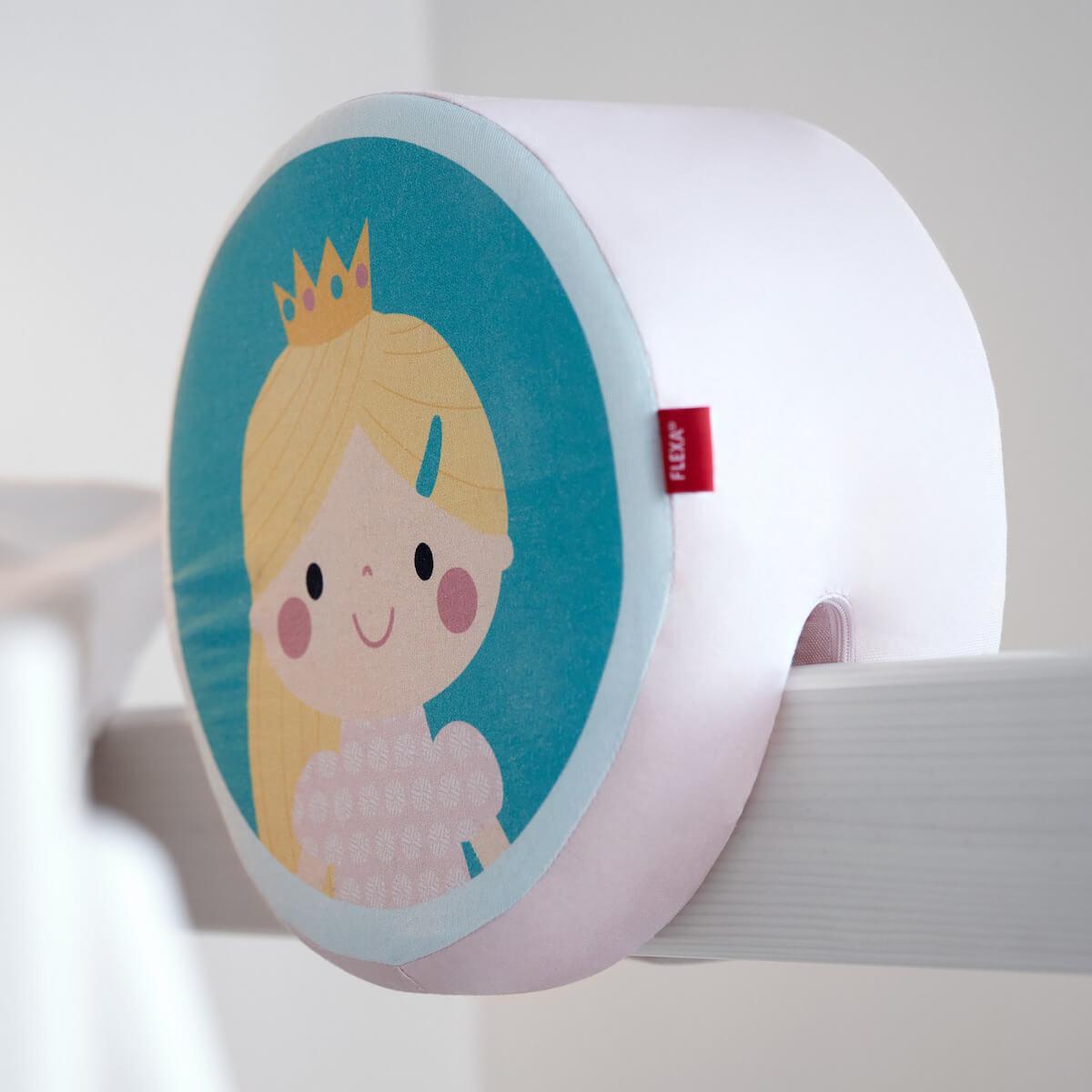 Cojín respaldo camas infantiles PRINCESA Flexa