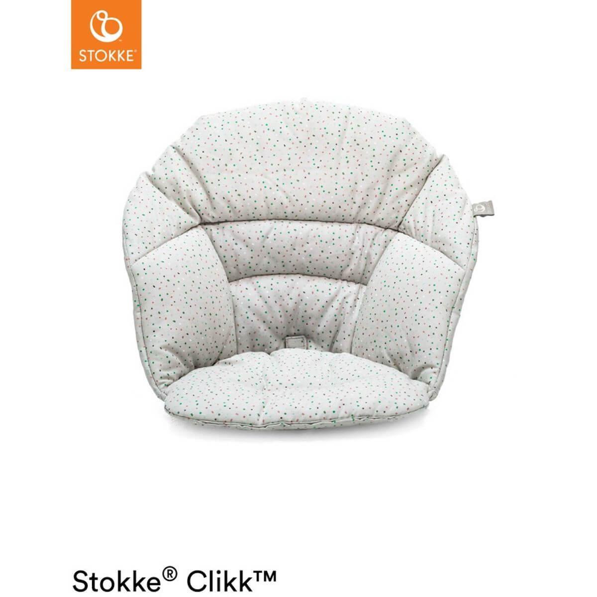 Cojín trona bebé CLIKK™ Stokke grey sprinkles