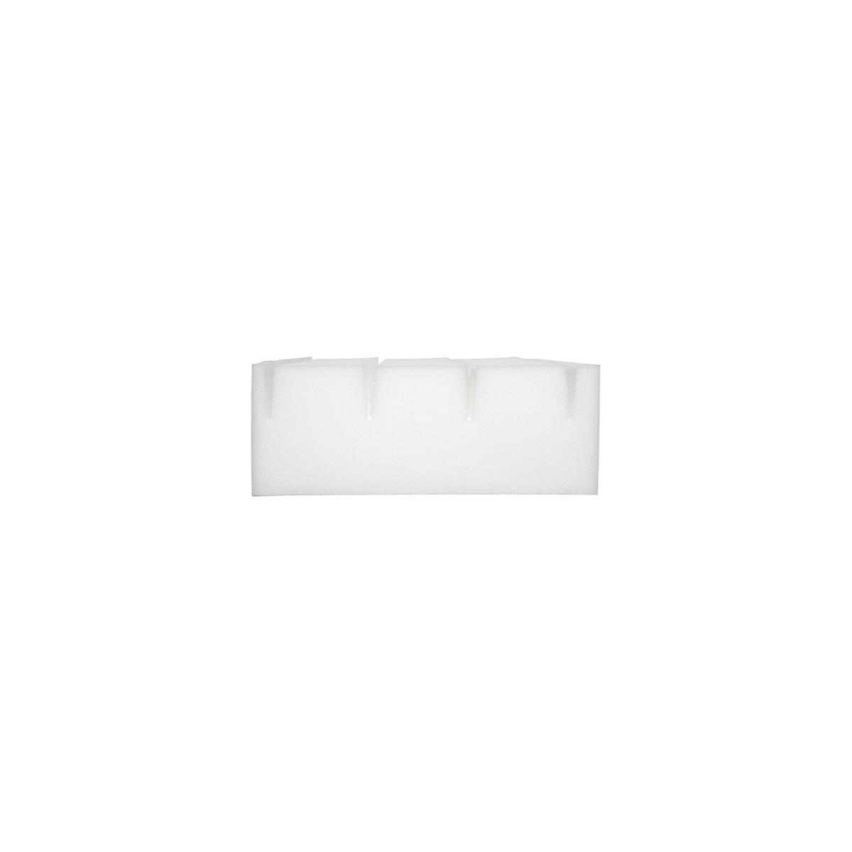 Colchón de espuma con funda blanca fina 190x90cm Flexa