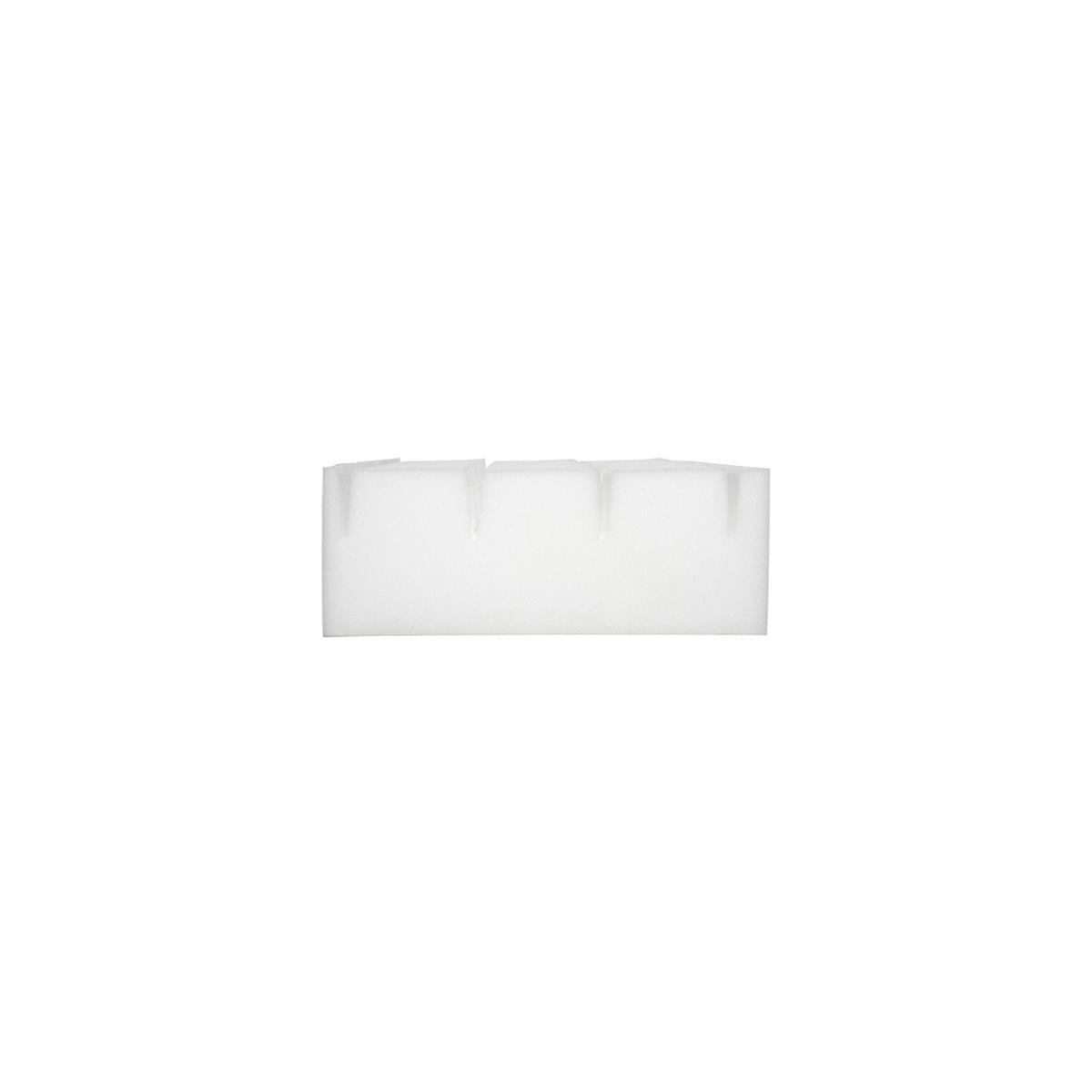 Colchón espuma con funda 180x90 Flexa crema