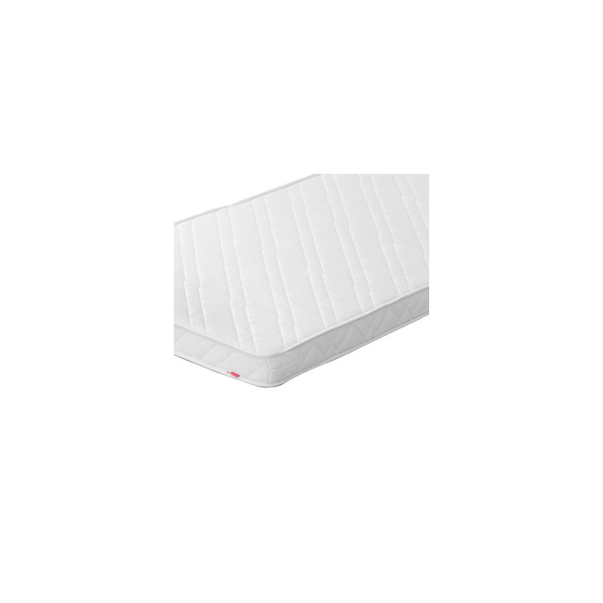 Colchón espuma y látex con funda 90x200 Flexa crema