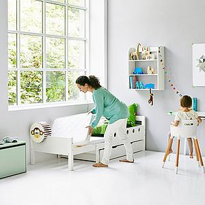 Colchón infantil extensible WHITE Flexa