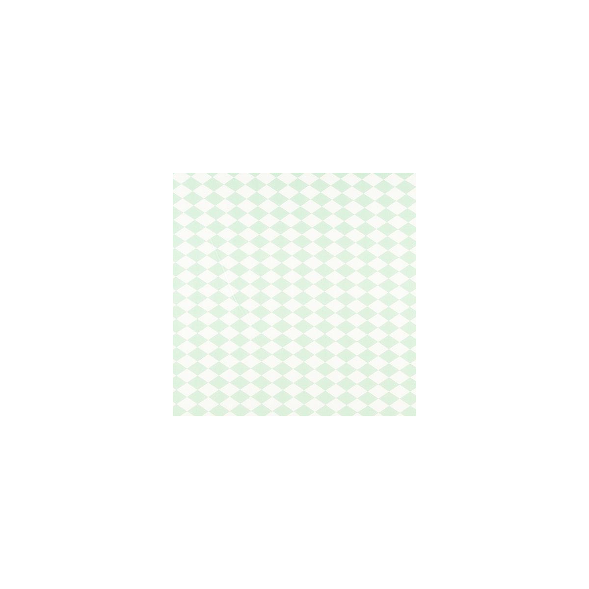 Colchón infantil SAINT TROPEZ Nobodinoz Rombos verdes