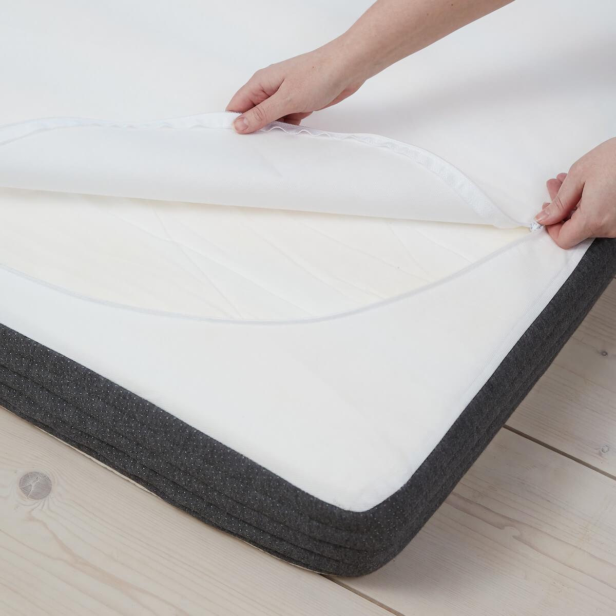 Colchón látex 140x190cm funda algodón SLEEP Flexa