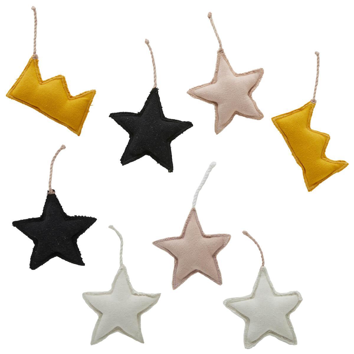 Colgantes cama dosel estrellas-coronas PRINCESS Lifetime