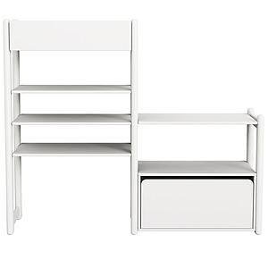 Combi 1. estanterías Mini-Midi SHELFIE Flexa blanco