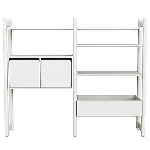 Combi 2. estanterías Midi SHELFIE Flexa blanco