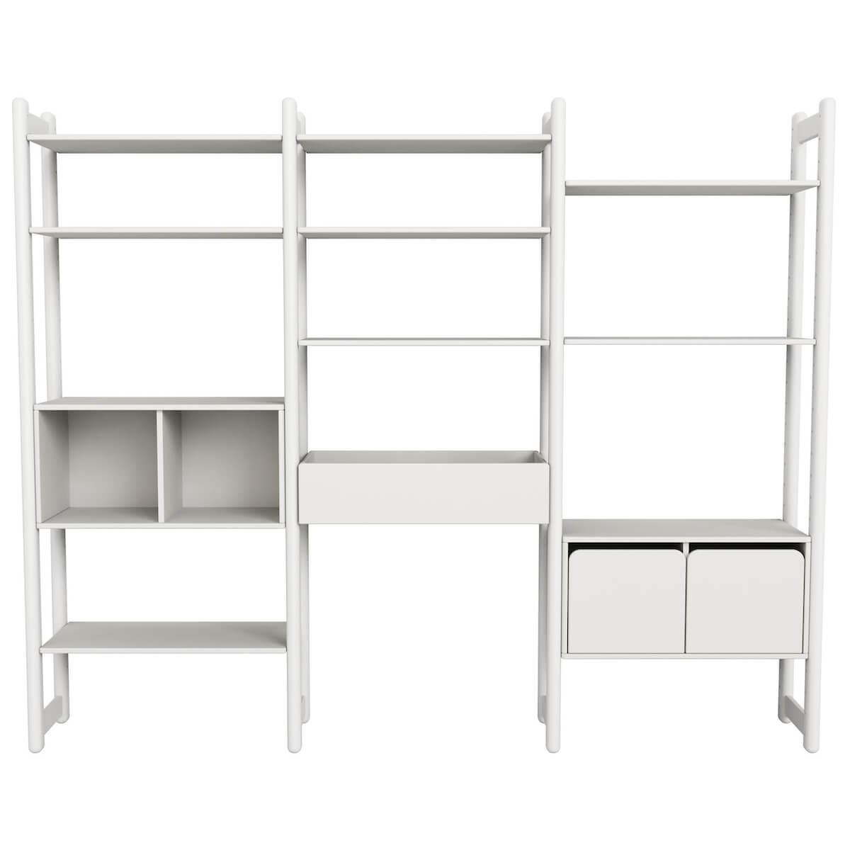 Combi 7. estanterías Maxi SHELFIE Flexa blanco
