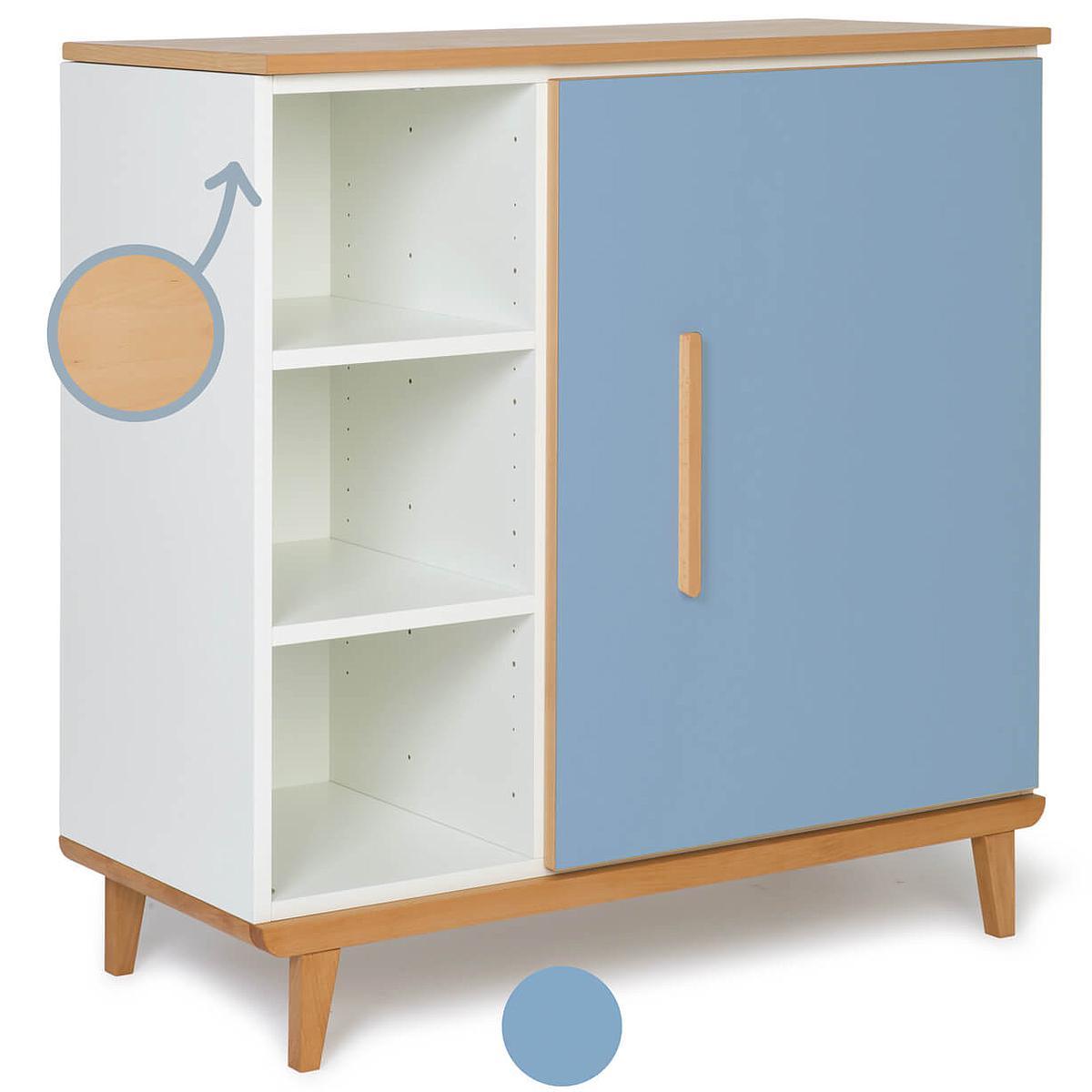Cómoda 1 puerta NADO capri blue