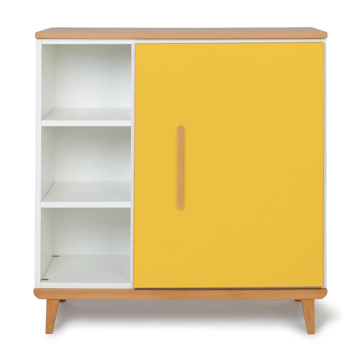 Cómoda 1 puerta NADO sunshine yellow