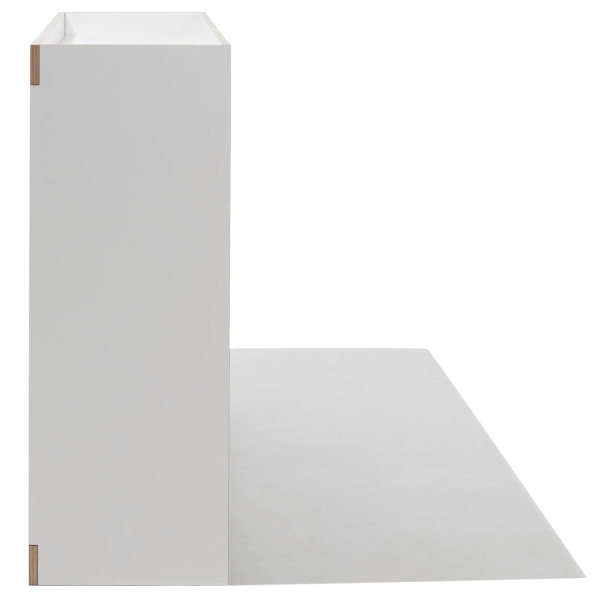 Cómoda 2 puertas FLAI Mueller blanco