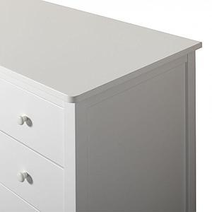Cómoda 4 cajones SEASIDE Oliver Furniture blanco
