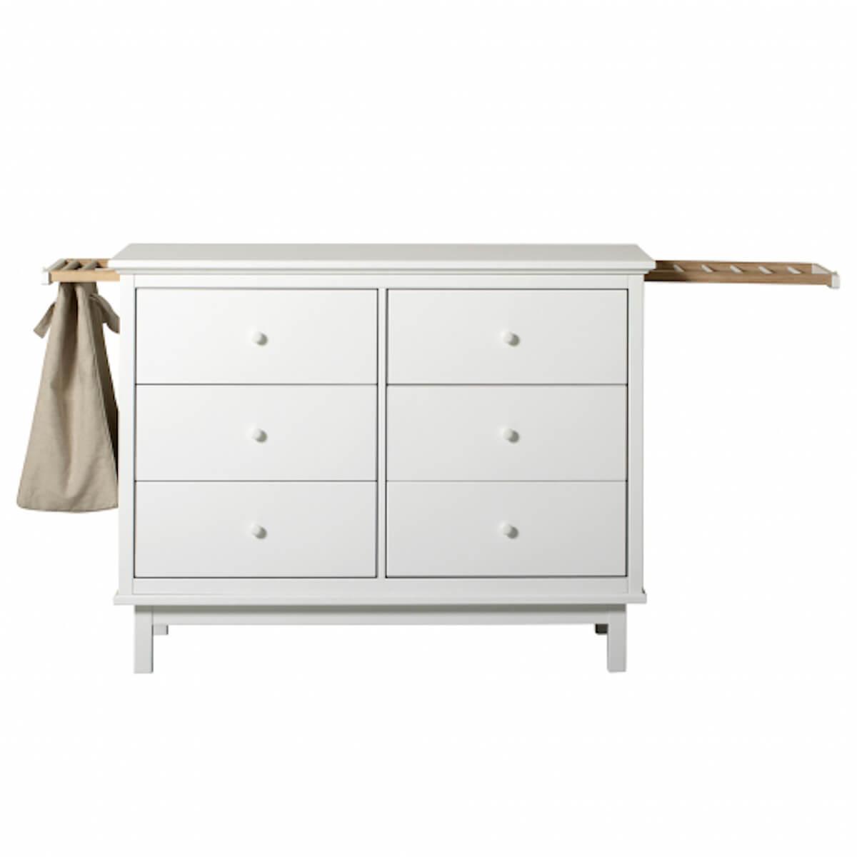 Cómoda 6 cajones SEASIDE Oliver Furniture blanco