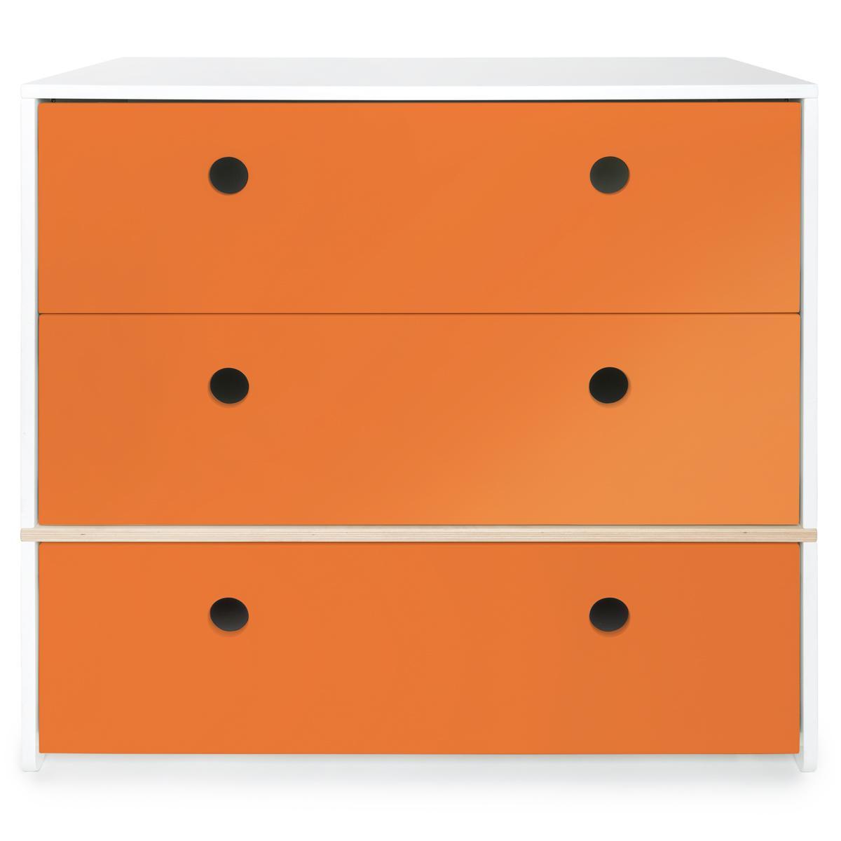 Cómoda COLORFLEX cajones frontales pure orange