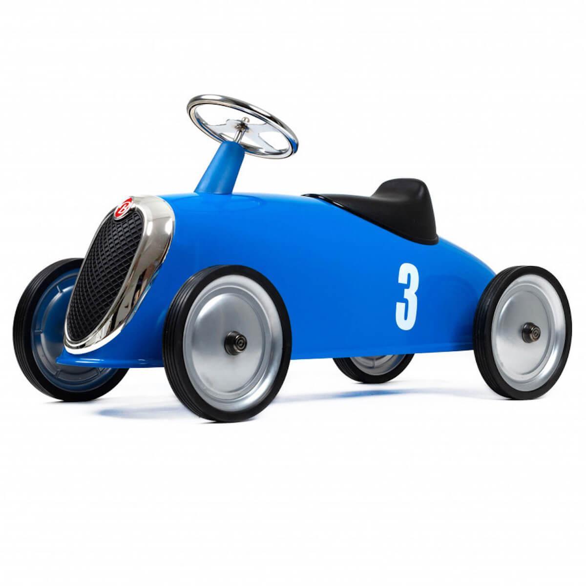 Correpasillos coche RIDER Baghera azul