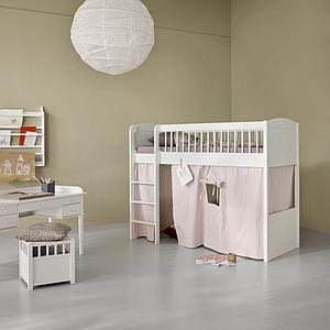Cortina cama media-alta SEASIDE LILLE+ Oliver Furniture rayas rosas