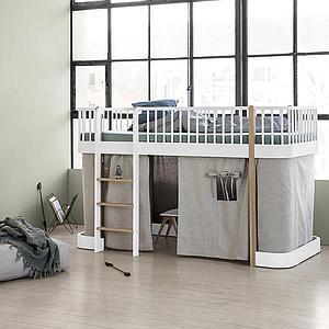Cortina cama WOOD ORIGINAL Oliver Furniture natural