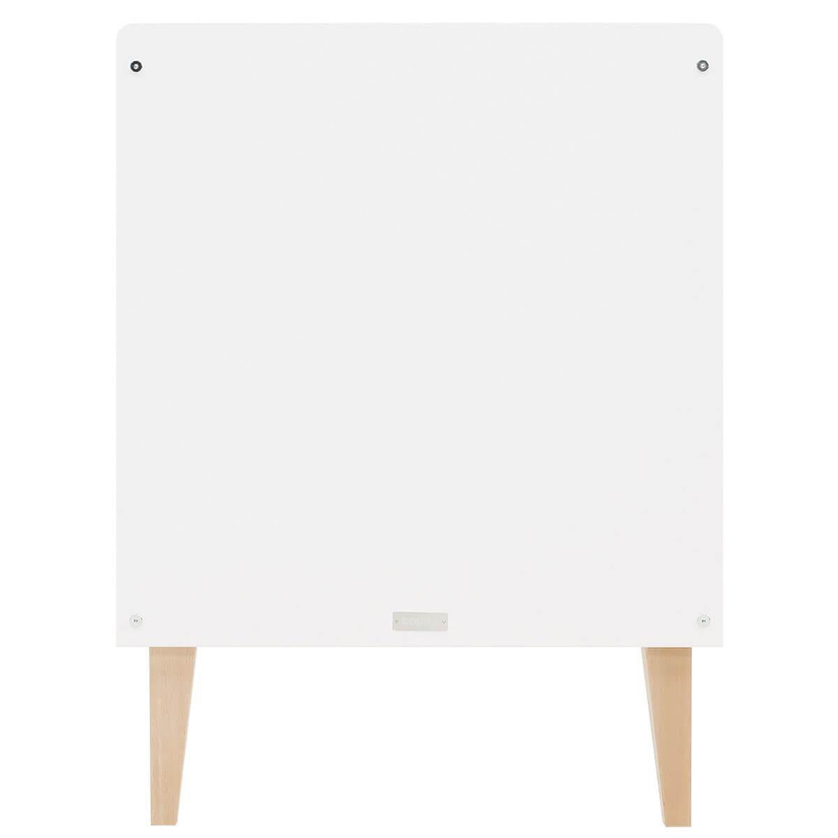 Cuna 60x120cm INDY Bopita blanco-natural