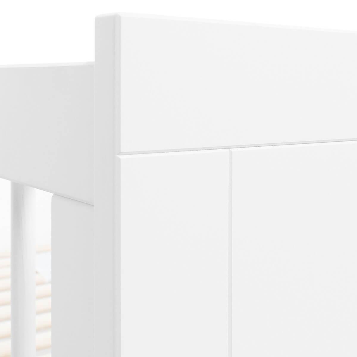 Cuna 60x120cm LUCCA Bopita blanco