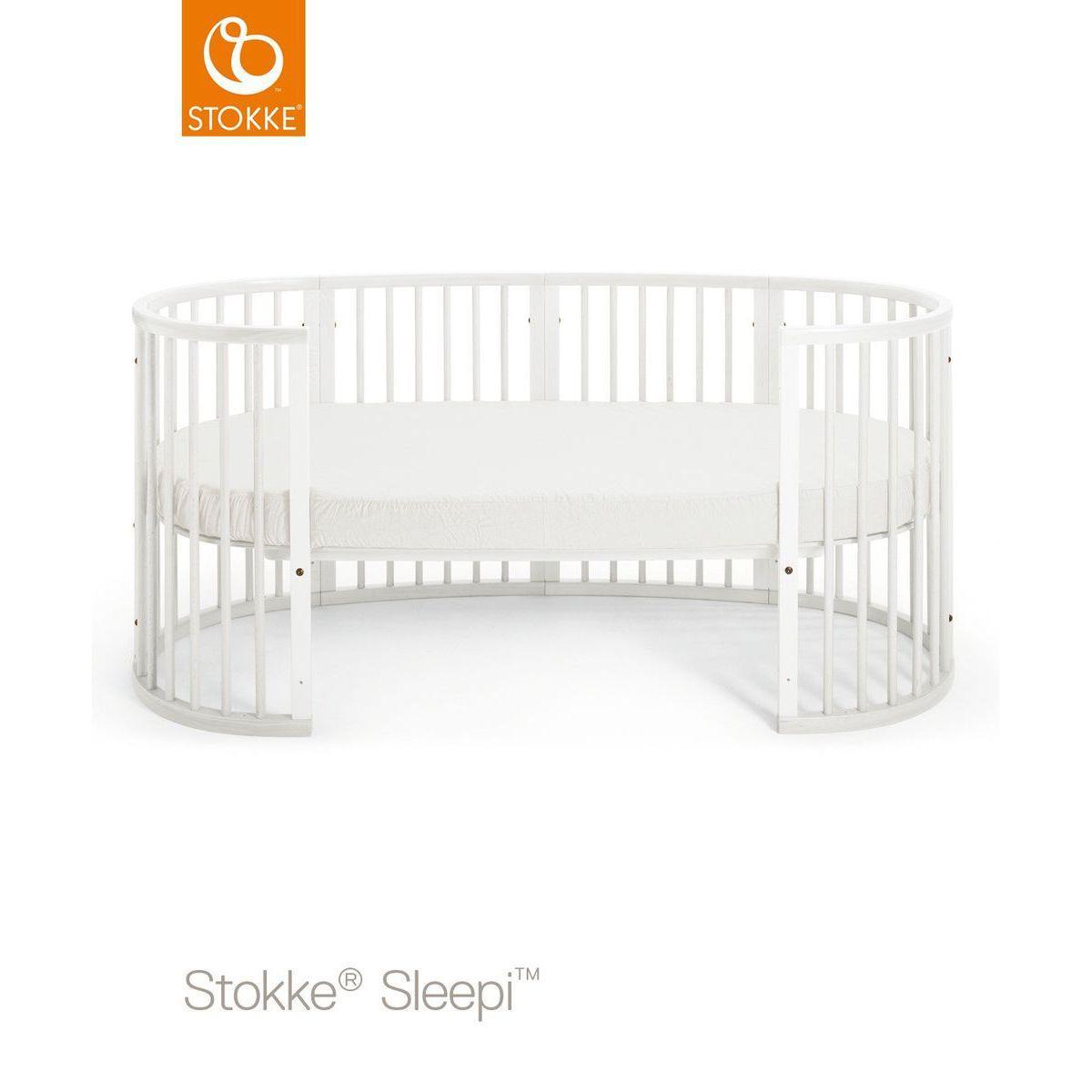 Cuna bebé 120cm SLEEPI Stokke blanco
