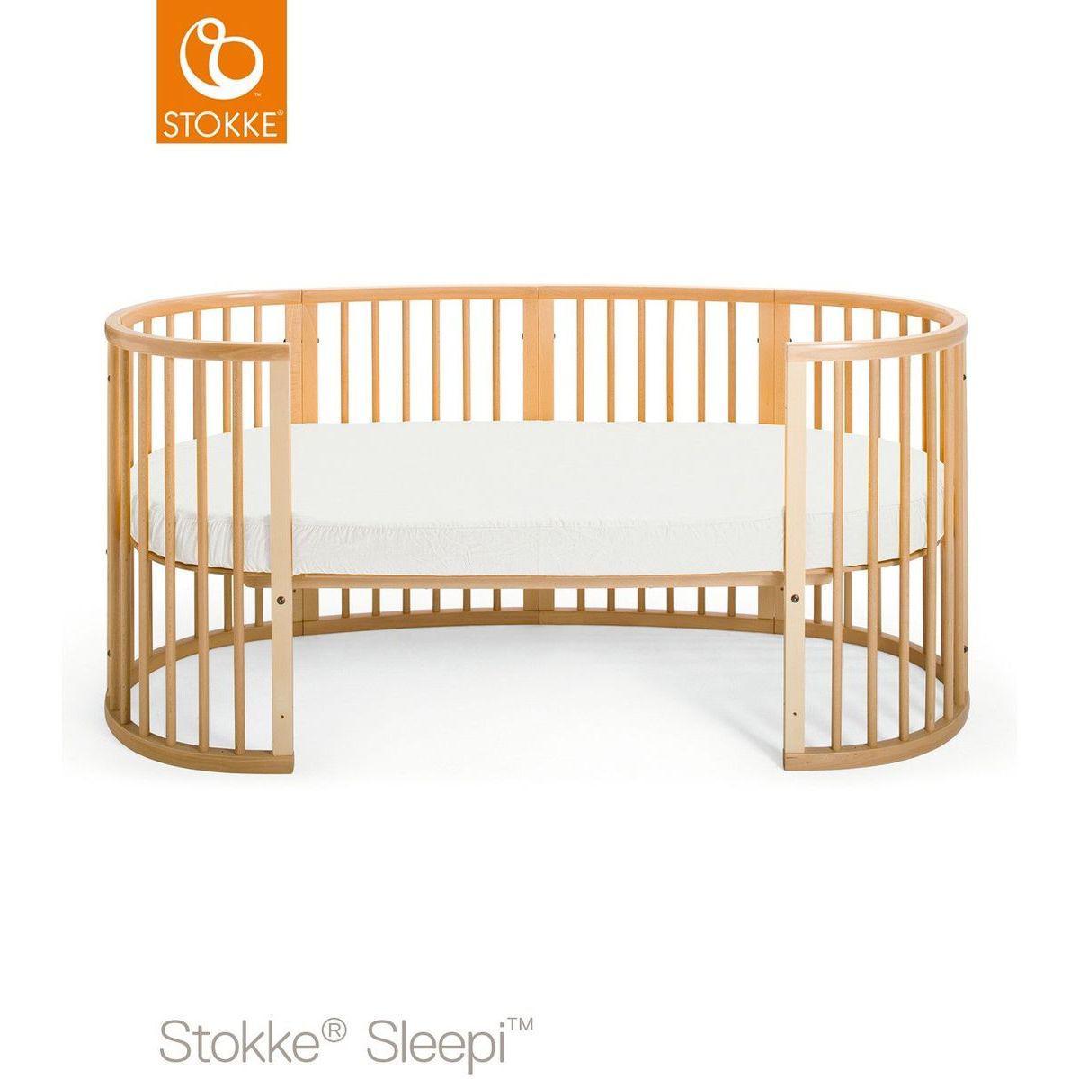 Cuna bebé 120cm SLEEPI Stokke natural