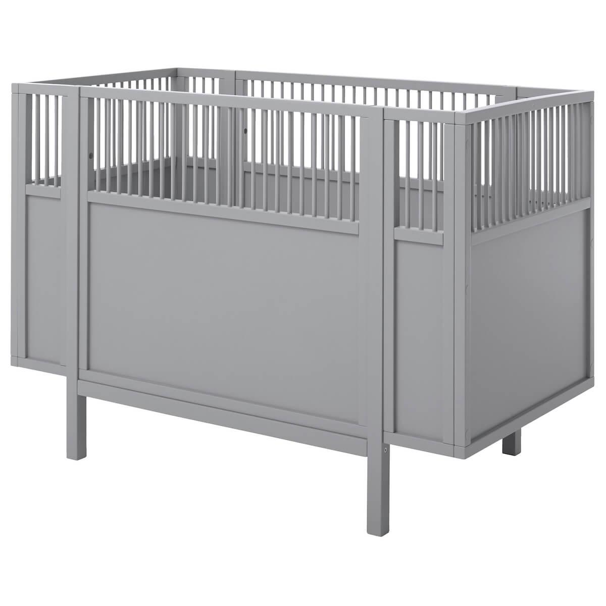 Cuna bebé 60x120cm Lifetime gris