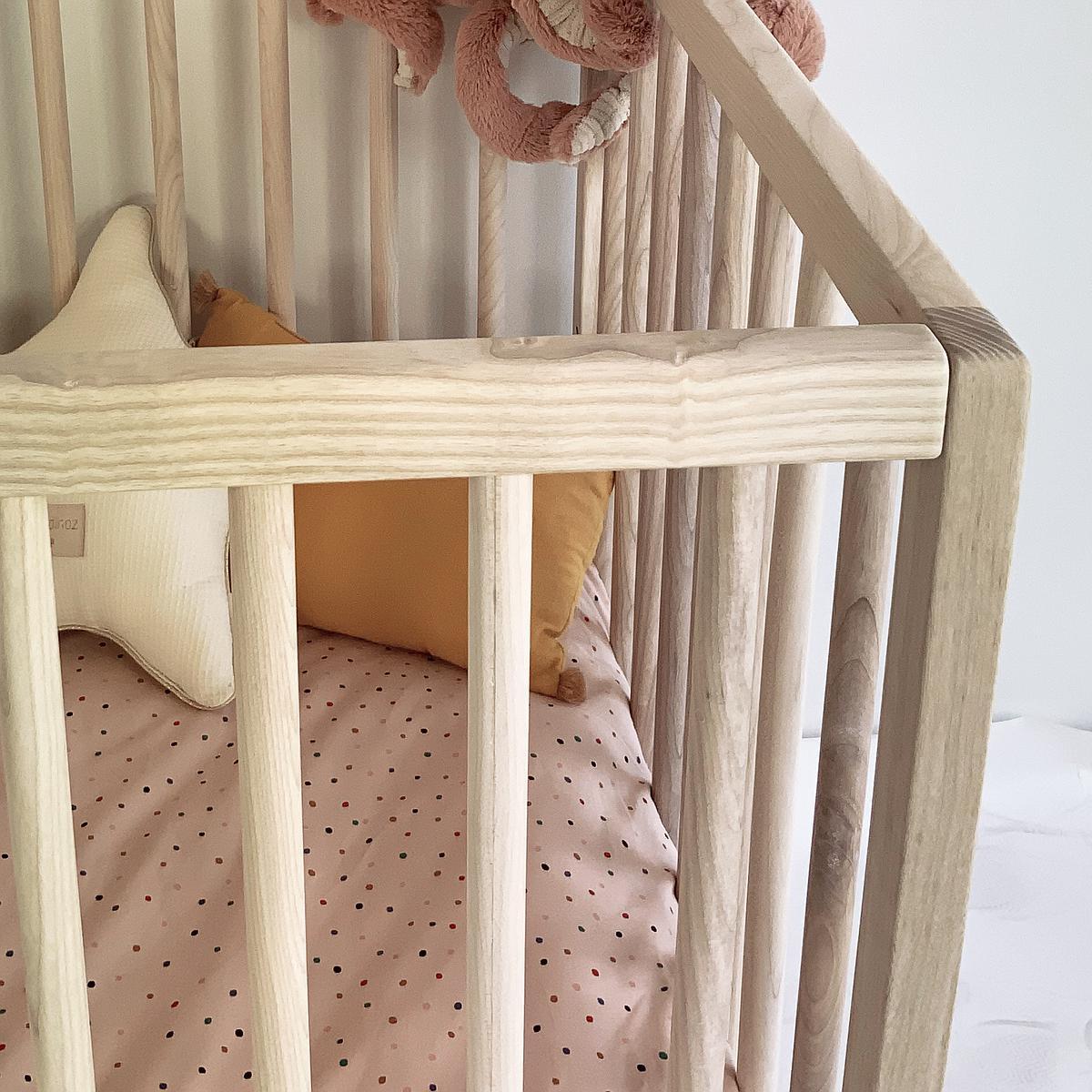 Cuna bebé KERA fresno top Round-pie Curve