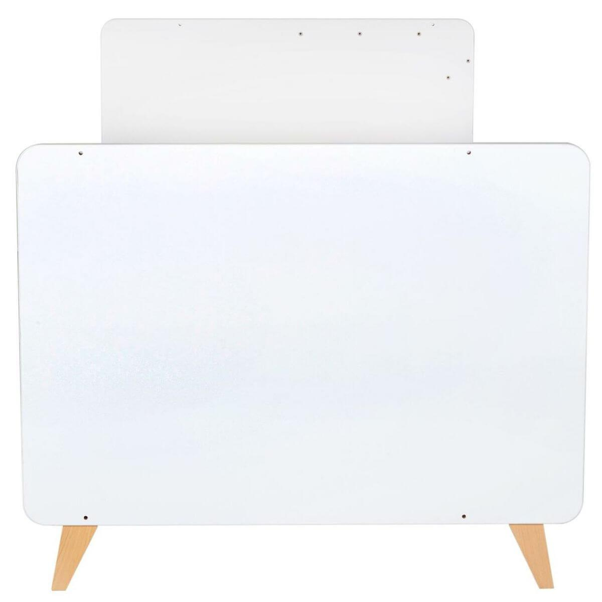 Cuna-Cama 60x120/90x200cm LOFT Quax blanco