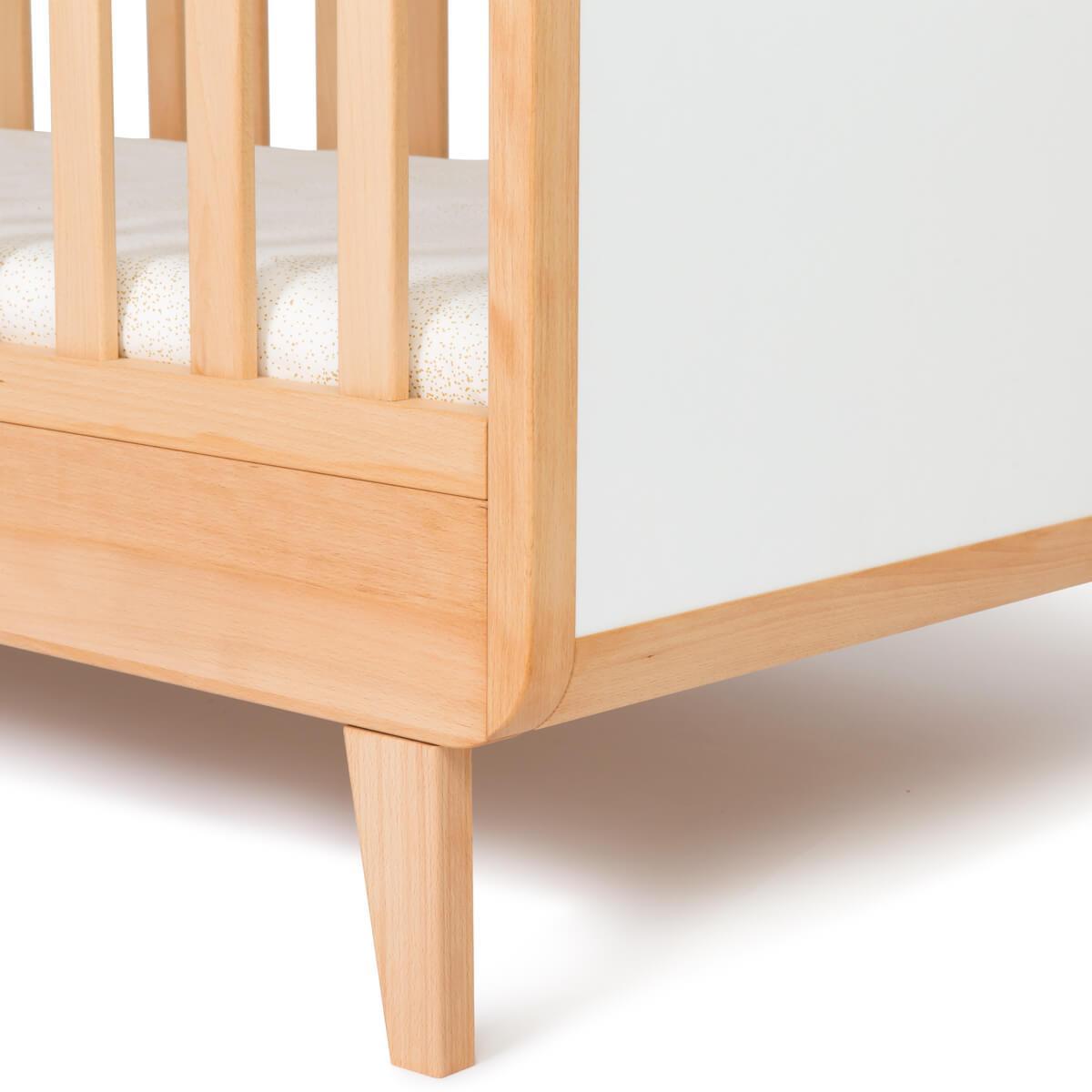Cuna cama 70x140cm NADO haya-blanco