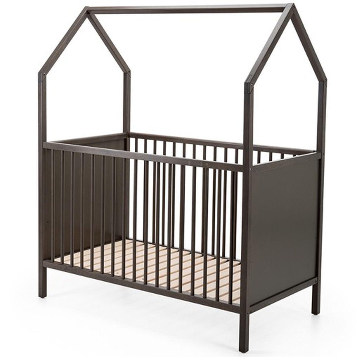 Cuna cama infantil HOME Stokke gris bruma